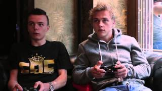 RossiHD takes on Ben Hardy from Eastenders at FIFA
