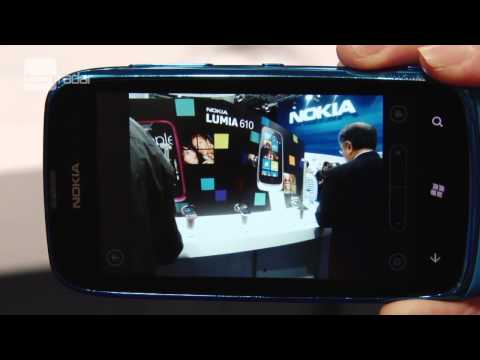 Nokia Lumia 610 Review Hands-on