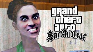 GTA San Andreas #12 - Colheitando Pessoas!