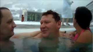Термальный парк в Бад Хофгаштайне(, 2013-01-28T20:11:49.000Z)