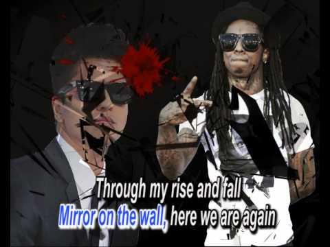 bruno mars ft lil wayne mirror karaoke