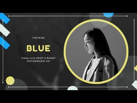 TAEYEON - 'BLUE' Easy Lyrics (SUB INDO)