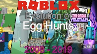 Evolution of Egg Hunts 2008-2019 | Roblox