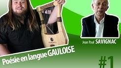 Gallic poetry with lyre | Jean Paul Savignac Atelier Skald