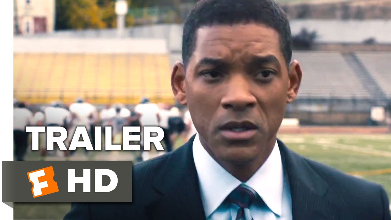 画像: Concussion Official Trailer #1 (2015) - Will Smith, Adewale Akinnuoye-Agbaje Drama Movie HD youtu.be