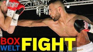Shokran Parwani vs Frank Bluemle - 10 rounds 83 kg catchweight - 05.08.2017 - Essen