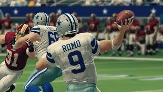 Tony Romo's Cowboys Look to Keep RGIII's Redskins Grounded SNF - Madden 25 Online Gameplay