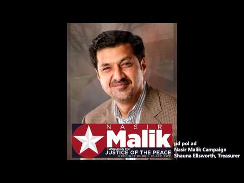 Nasir Malik - Republican for Justice of the Peace - Precinct 4 Place 2 - 2nd Amendment