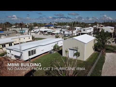 Metal Building Survived Hurricane Irma in Goodland, Florida