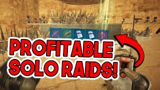 SOLO RAIDS = PROFIT! | Solo Official PvP Small Tribes - ARK Survival Evolved
