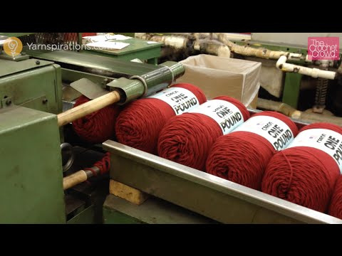 How Caron One Pound Yarn is Made
