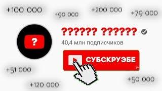 Самый Подписываемый русскоязычный Канал на ЮТУБЕ в 2019 году