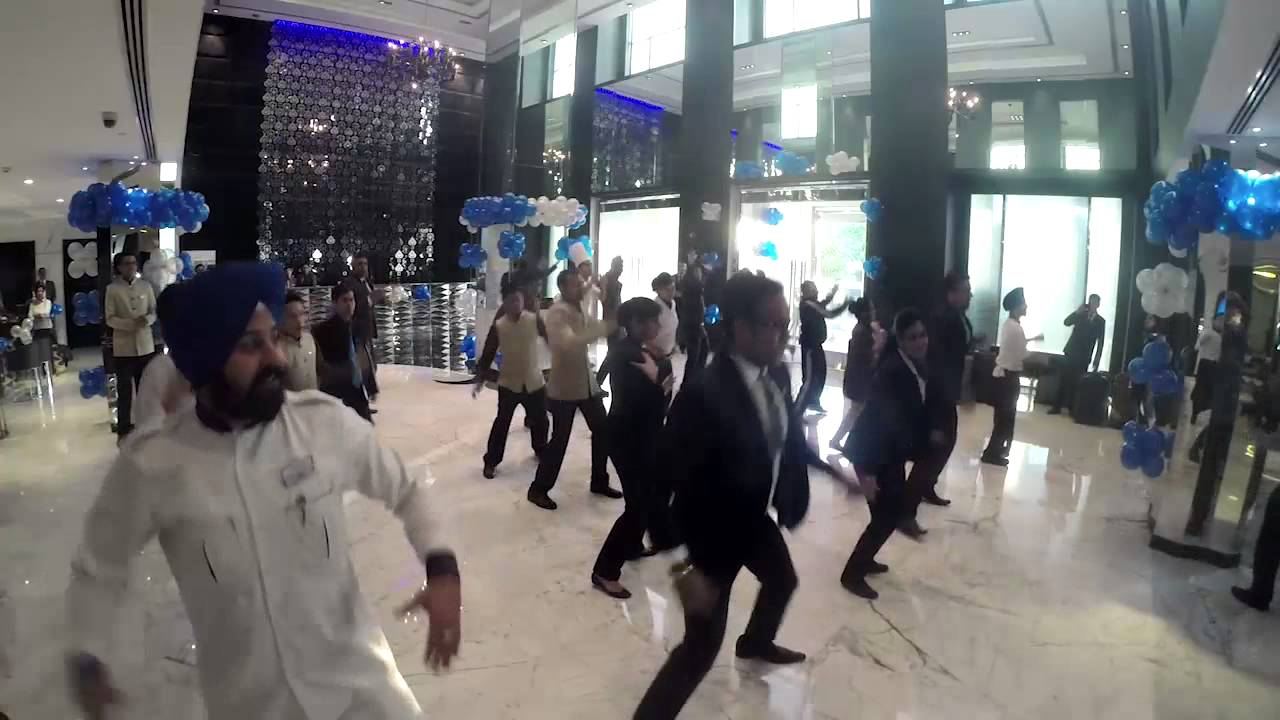 Flash Mob At Radisson Blu Hotel New Delhi Paschim Vihar