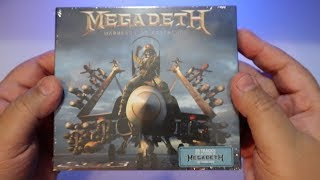 Megadeth - Warheads on Foreheads / UNBOXING 3 CD BOXSET