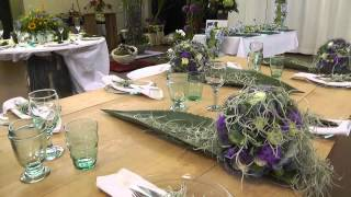 Floristik-Ausstellung In der Johannstadthalle Dresden