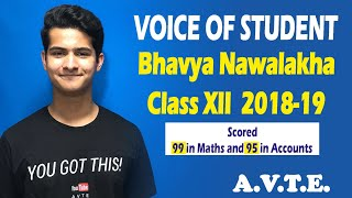 Voice Of Student || Bhavya Nawalakha || Session 2019-20 || Let's Connect || #avte