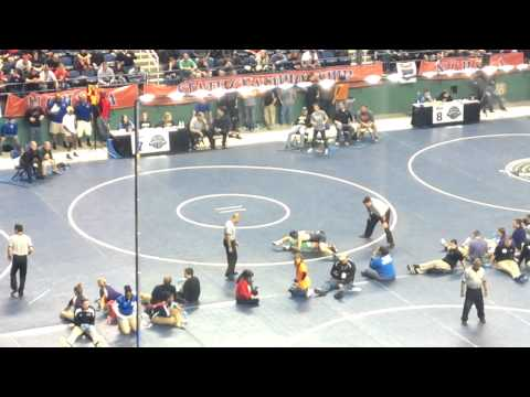 State Semi Finals Logan Pavia vs. Will Clark