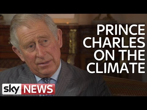 Climate Change: Prince Charles Speaks Out