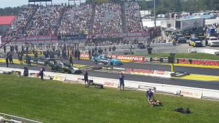 2016 U.S. Nationals - Courtney Force vs. Alexis DeJoria