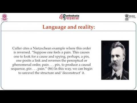Theories on Language and Linguistics: Saussure, Derrida; Signs, Structures, Lapses and Faults (ENG)