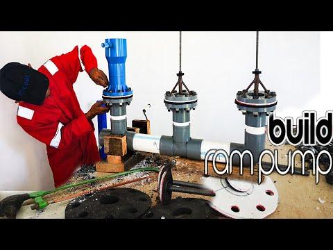Build a hydraulic pump | ram pump building (Full Movie)