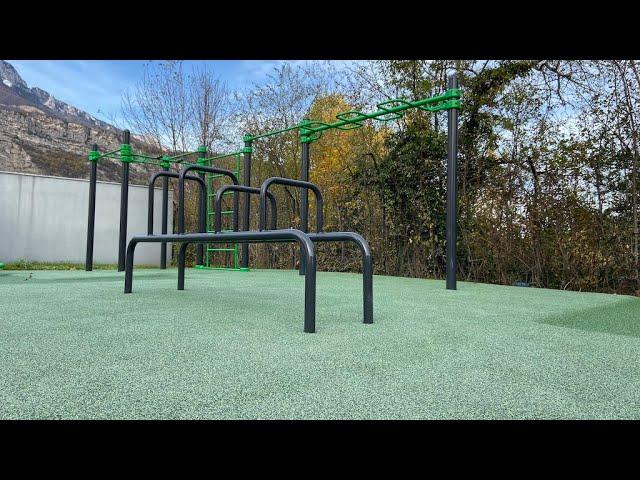 PleinBois Aménagement - Equipements sportifs - Fitness et Street Workout - Pont de Claix 2019