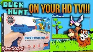 Duck Hunt on your HDTV - Hyperkin Hyper Blaster HD