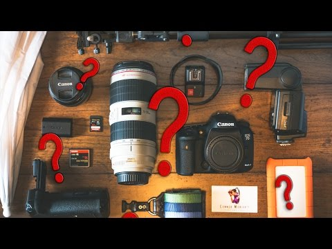 What Photography Gear Should YOU Buy??? Essential photo equipment
