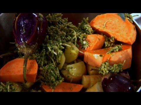 Vegetable & Coconut Masala - Undhiyo - Indian Food Made Easy With Anjum Anand - BBC Food