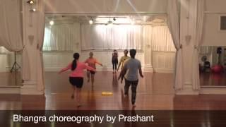 Bhangra choreography by Prashant to Moorni (Panjabi MC)