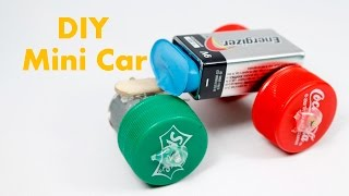 How To Make Car - Powered Car - Very Simple || Easy DIY Mini Car for Kids