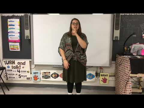 My Country 'Tis with Sign Language at Three Oaks School Cary
