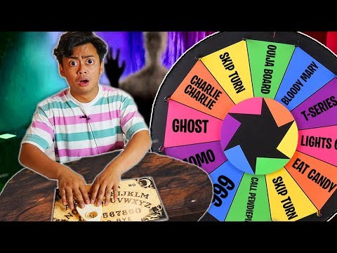 Don't Spin The Scary Mystery Wheel Game at 3AM!