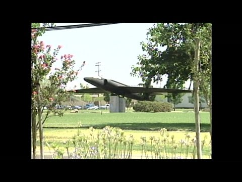 FILE VIDEO: U-2 Spy Plane Crash In Oroville