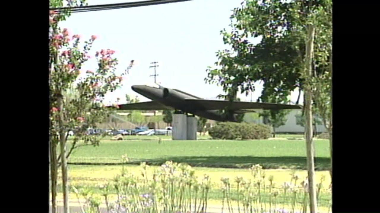FILE VIDEO: U-2 Spy Plane Crash In Oroville