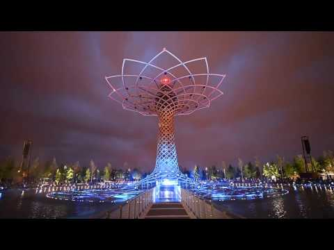 [LET'S WATCH!] That was the tree of life in Milan Expo.