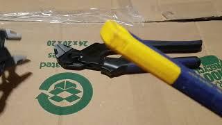 Kobalt self adjusting groove lock pliers