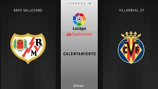Rayo Vallecano 2 - 2 Villarreal