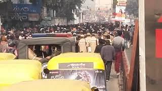 Up police bhari rally