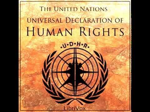 U.N. Universal Declaration of Human Rights - FULL Audio Book | Greatest Audio Books
