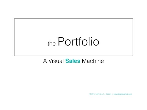 the Portfolio - A Visual Sales Machine