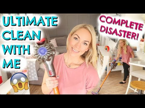 CLEAN WITH ME 2019  |  CLEANING MOTIVATION |  SPEED CLEANING MY ENTIRE HOUSE