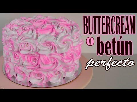 Buttercream O Betún Para Decorar Tartas O Cupcakes
