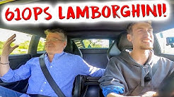 Papa reagiert auf 610PS Lambo!