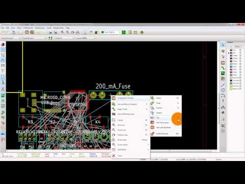 Netlist Import And Placement In KiCad