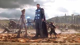 #Thor Vs #Thanos Army - Battle Fight Scene - #AvengersInfinityWar (2018) Movie CLIP HD