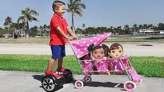 रोमा - गुड़िया के लिए बच्चा सम्भालना