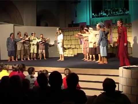Musical Jacob & zoons  2005 Toneel Mevna Voormezele