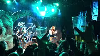 Manowar - Brothers of Metal (clip, not full)  - Bergen, Norway - 4-13-2019