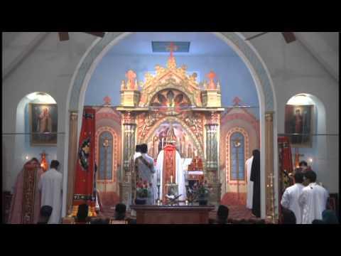 Holy Qurbana at St. Mary